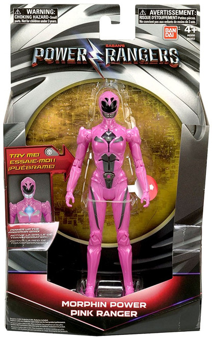 Power Rangers Movie Morphin Grid Pink Ranger Action Figure