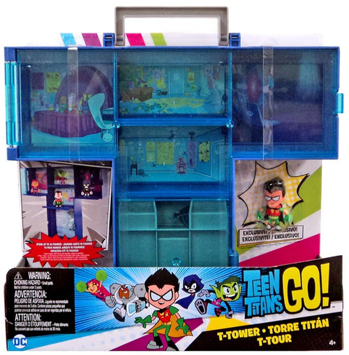 Teen Titans Go! T-Tower Carry Case