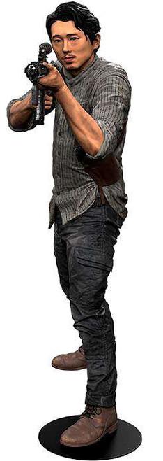 McFarlane Toys The Walking Dead AMC TV Glenn Rhee Deluxe Action Figure [Damaged Package]