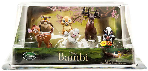 Disney Bambi Exclusive 6-Piece PVC Figurine Playset
