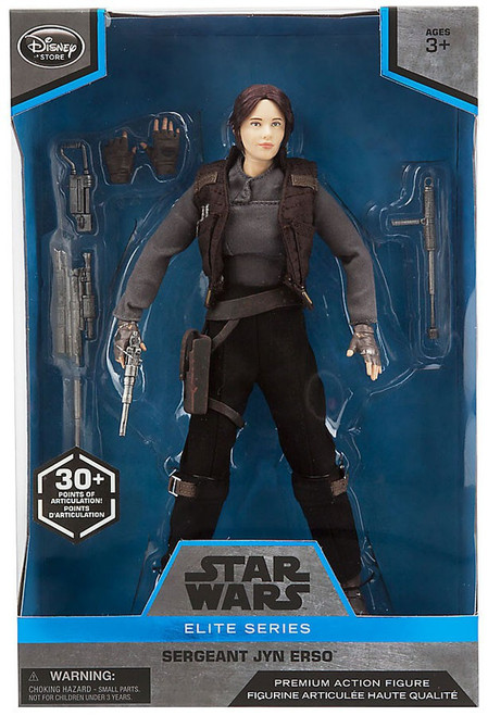 Disney Star Wars Rogue One Elite Sergeant Jyn Erso Exclusive Premium Action Figure