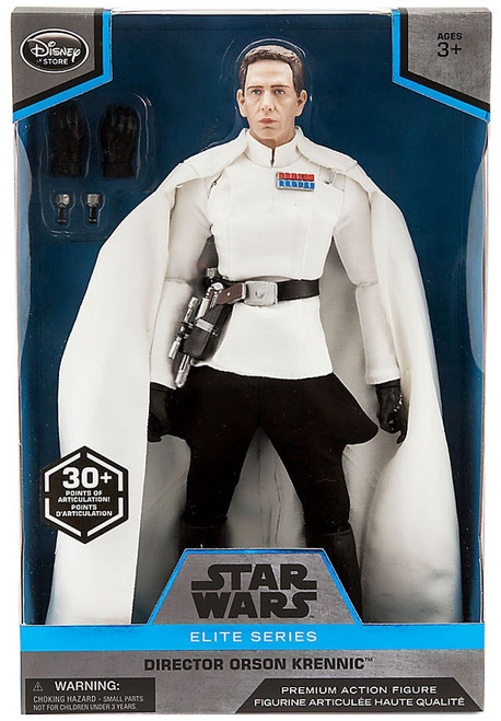 Disney Star Wars Rogue One Elite Director Orson Krennic Exclusive Premium Action Figure