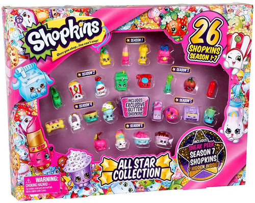 Shopkins Season 1-7 Best of All Star Collection Exclusive Playset [26 Shopkins]