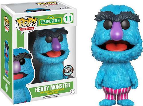 Funko Sesame Street POP! TV Herry Monster Exclusive Vinyl Figure #11 [Specialty Series]
