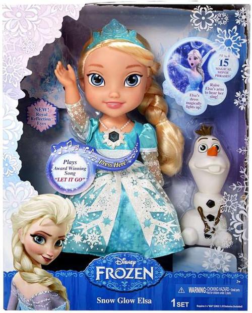 Disney Frozen Snow Glow Elsa Doll [Damaged Package]