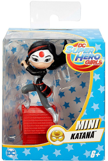 DC Super Hero Girls Katana Mini Figure