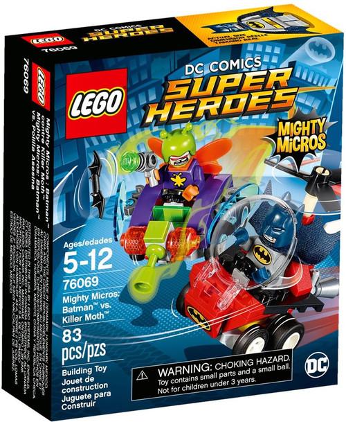 LEGO DC Super Heroes Mighty Micros Batman vs. Killer Moth Set #76069