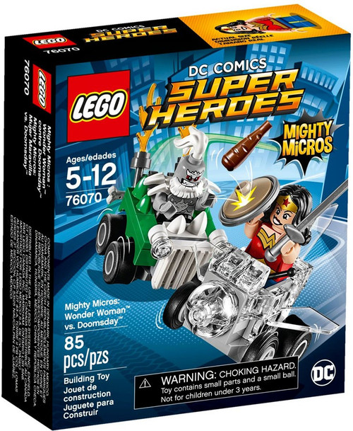 LEGO DC Super Heroes Mighty Micros Wonder Woman vs Doomsday Set #76070