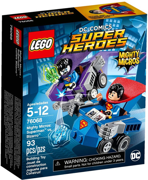 LEGO DC Super Heroes Mighty Micros Superman vs Bizarro Set #76068