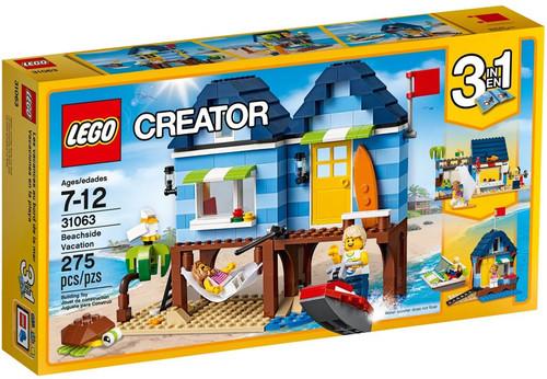 LEGO Creator Beachside Vacation Set #31063