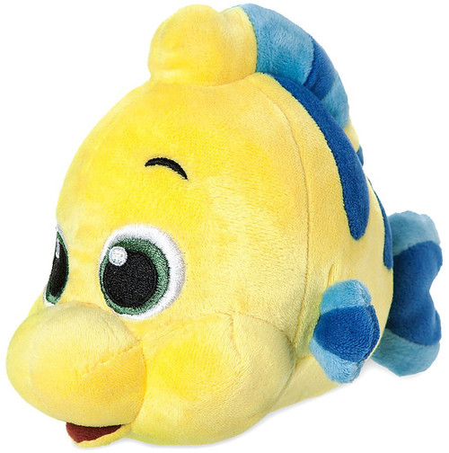 Disney The Little Mermaid Animators' Collection Flounder Exclusive 6.5-Inch Mini Bean Bag Plush