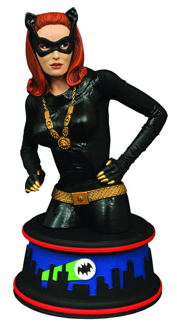 Batman 1966 TV Series Catwoman 6-Inch Bust