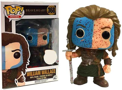 Funko Braveheart POP! Movies William Wallace Exclusive Vinyl Figure #368 [Bloody]