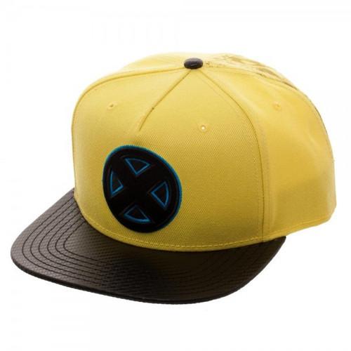 Marvel X-Men Carbon Fiber Snapback Cap Apparel