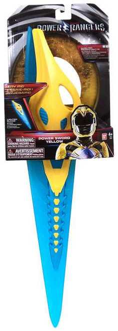 Power Rangers Movie Yellow Power Sword Exclusive Roleplay Toy