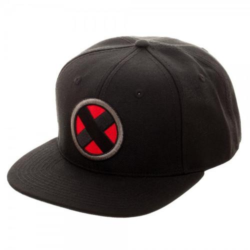 Marvel X-Men Logo Black Snapback Cap Apparel