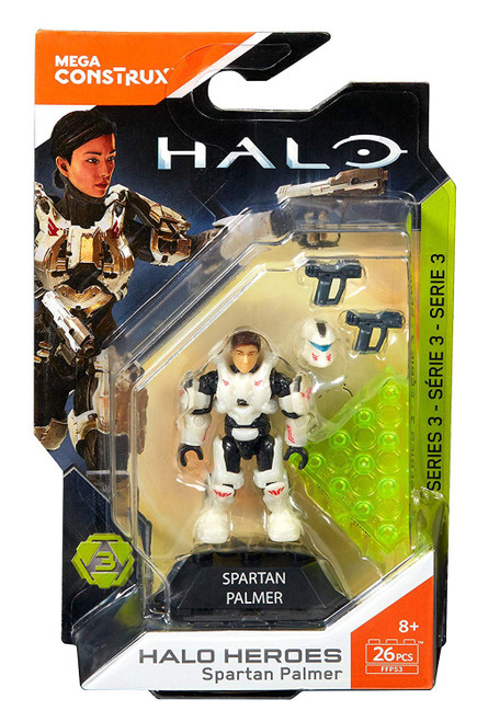 Halo Heroes Series 3 Spartan Palmer Mini Figure