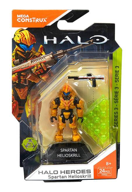Halo Heroes Series 3 Spartan Helioskrill Mini Figure