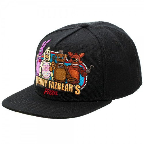 Five Nights at Freddy's Group Snapback Cap Apparel