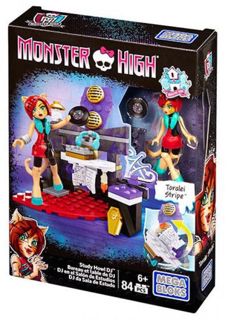 Mega Bloks Monster High Study Howl DJ Set DPK30