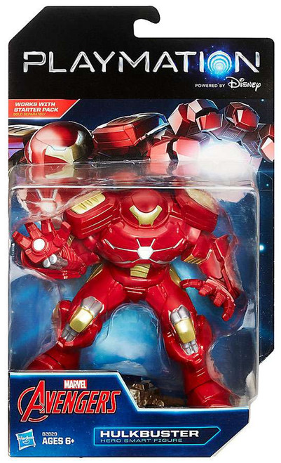 Marvel Avengers Playmation Hulkbuster Smart Figure [Damaged Package]