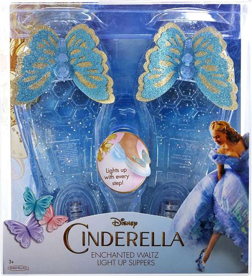 Disney Princess Cinderella 2015 Enchanted Waltz Light Up Slippers [Damaged Package]