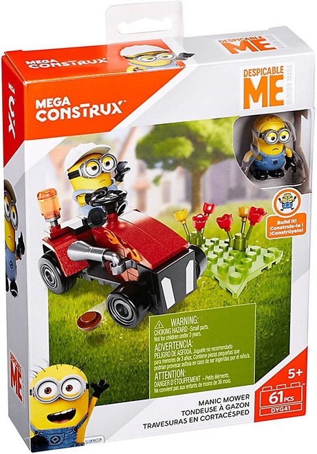 Despicable Me Minions Manic Mower Set