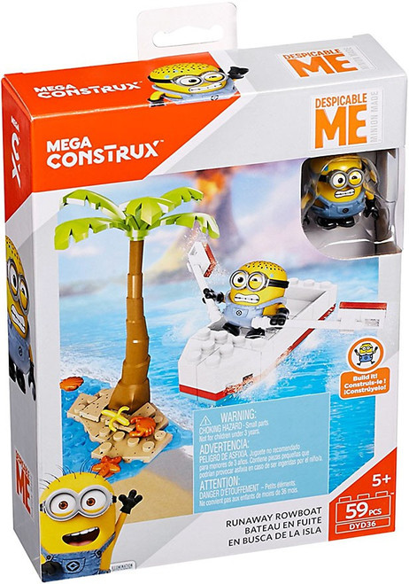 Despicable Me Minions Runaway Rowboat Set