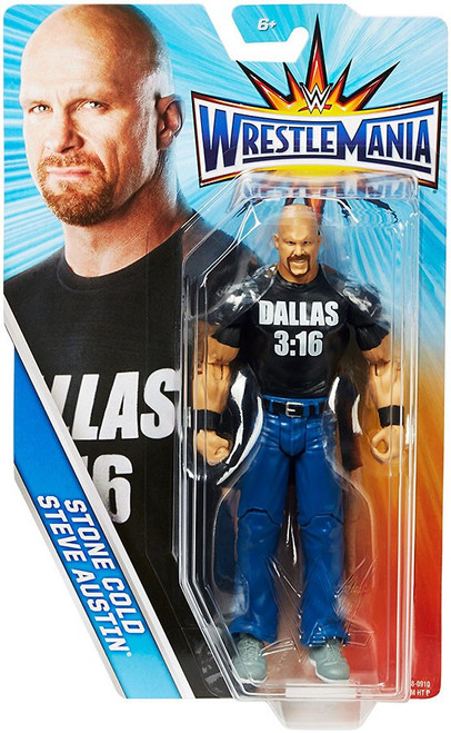 WWE Wrestling WrestleMania 33 Stone Cold Steve Austin Action Figure