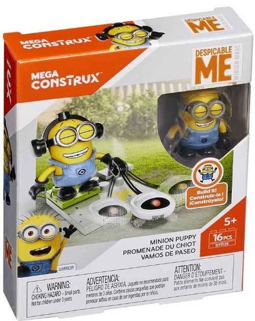Despicable Me Minions Minion Puppy Set