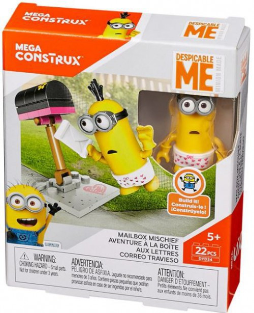 Despicable Me Minions Mailbox Mischief Set