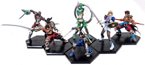 Soul Calibur III Namco Game Character Collection Series 1 Action Figures