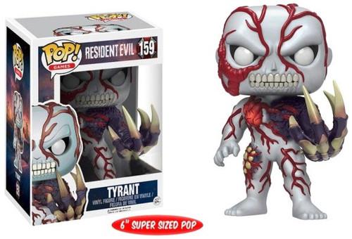 Funko Resident Evil POP! Games Tyrant Exclusive 6-Inch Vinyl Figure #159 [Super-Sized]