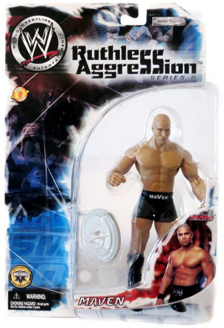 WWE Wrestling Ruthless Aggression Series 6 Maven Action Figure