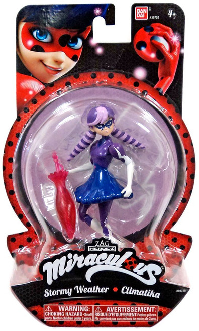 Zag Heroez Miraculous: Tales of Ladybug & Cat Noir Stormy Weather Action Figure