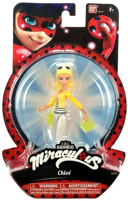 Zag Heroez Miraculous: Tales of Ladybug & Cat Noir Chloe Action Figure
