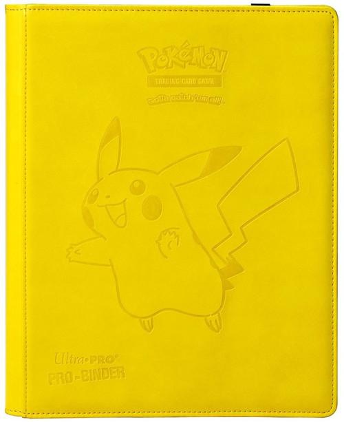 Ultra Pro Pokemon Trading Card Game Pro-Binder Pikachu 9-Pocket Binder [Premium]