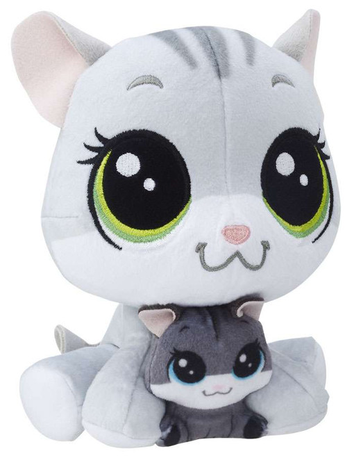 Littlest Pet Shop Plush Pairs Tabsy & Holiday Felino 6-Inch Plush
