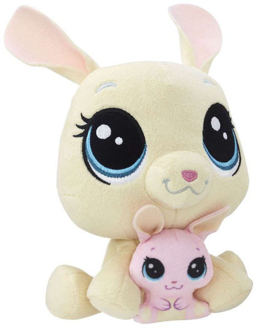 Littlest Pet Shop Plush Pairs Vanilla & Bijou Velvetears 6-Inch Plush