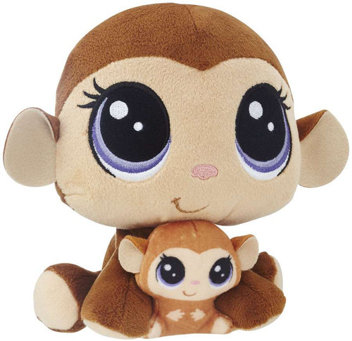 Littlest Pet Shop Plush Pairs Mona & Merry Junglevine 6-Inch Plush