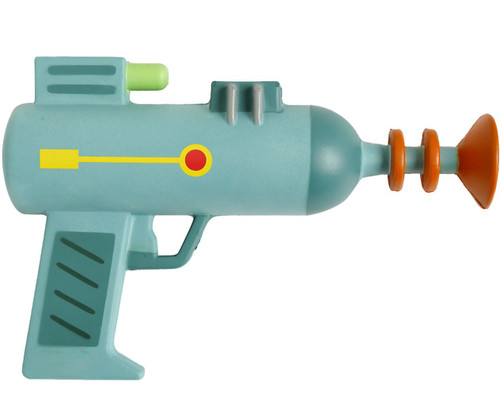 Rick & Morty Foam Laser Gun Roleplay Toy