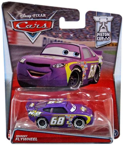 Disney / Pixar Cars Piston Cup Manny Flywheel Diecast Car #7/11