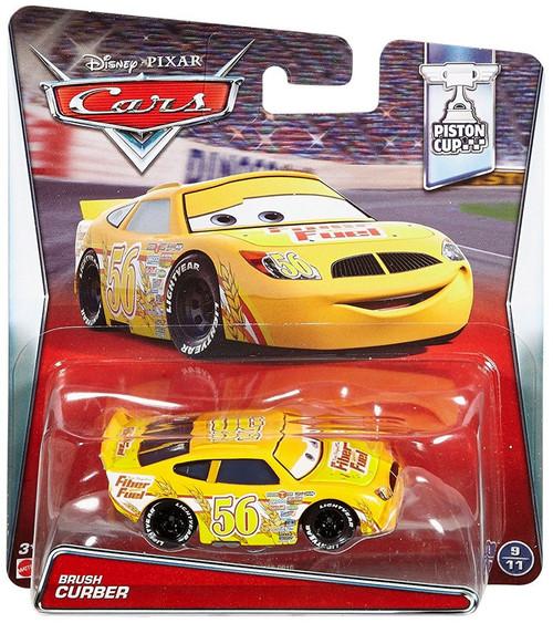 Disney / Pixar Cars Piston Cup Brush Curber Diecast Car #9/11