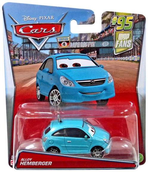 Disney / Pixar Cars #95 WGP Fans Alloy Hemberger Diecast Car #3/8