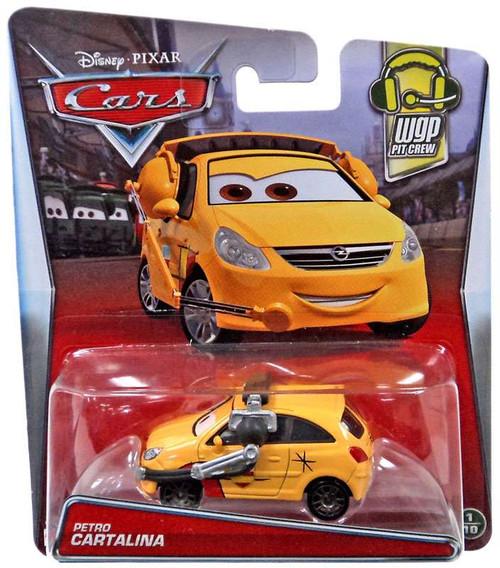 Disney / Pixar Cars WGP Pit Crew Petro Cartalina Diecast Car #1/10