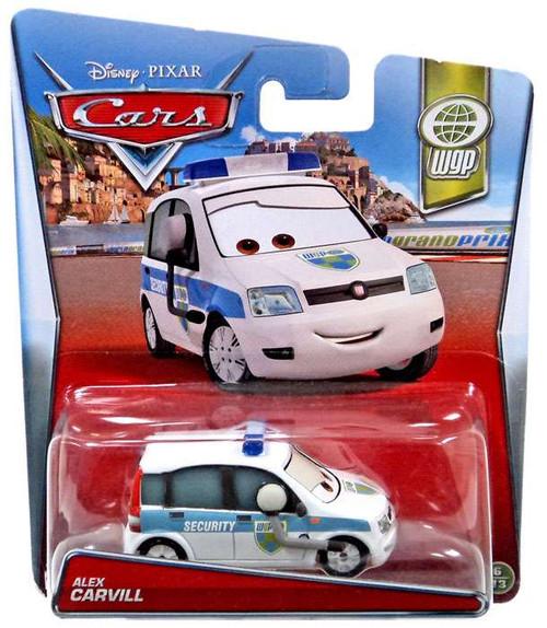 Disney / Pixar Cars WGP Alex Carvill Diecast Car #6/13