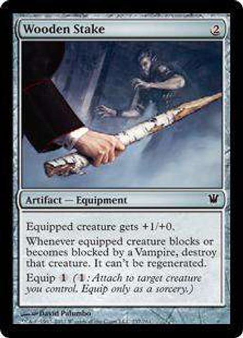 MtG Innistrad Common Foil Wooden Stake #237