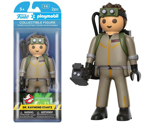 Ghostbusters Funko Playmobil Dr. Raymond Stantz Action Figure