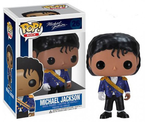 Funko POP! Rocks Michael Jackson Vinyl Figure #26 [Purple Jacket, Damaged Package]