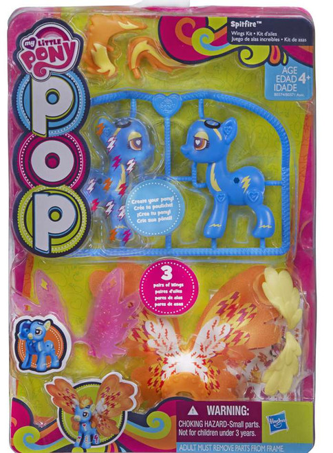 My Little Pony Pop Create a Pony Spitfire Starter Kit [Wings Kit, Damaged Package]